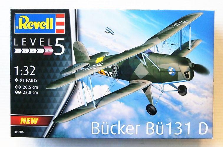 REVELL 1/32 03886 BUCKER Bu131 D