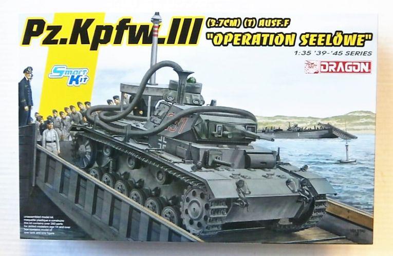 DRAGON 1/35 6877 PZ.KPFW.III  3.7cm   T  AUSF.F OPERATION SEELOWE