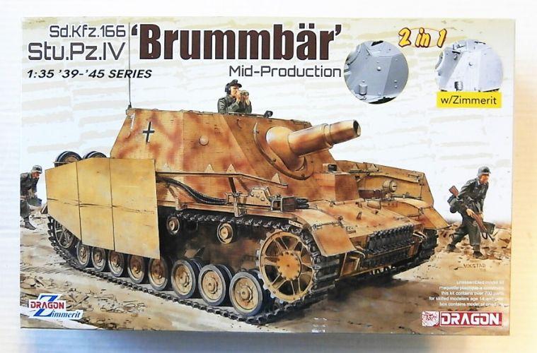 DRAGON 1/35 6892 SD.KFZ.166 STU.PZ.IV BRUMMBAR MID-PRODUCTION