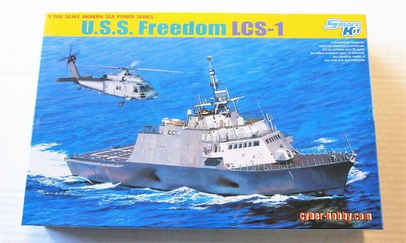 CYBER-HOBBYCOM 1/700 7095 U.S.S. FREEDOM LCS-1