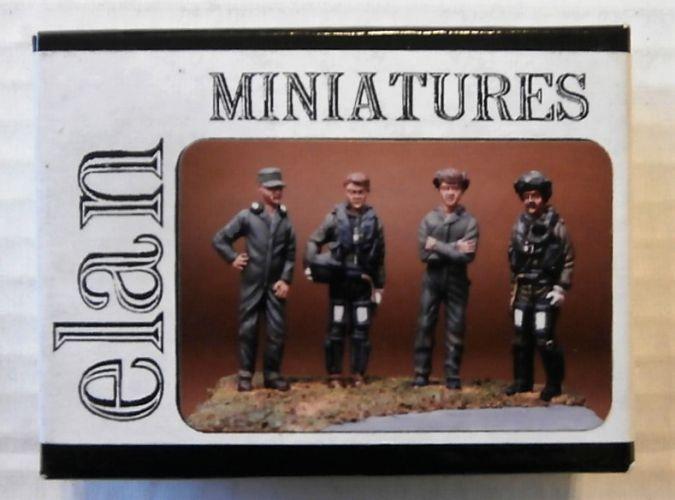 ELAN MINIATURES 1/48 001 RAF FAST JET CREW AND GROUND CREW