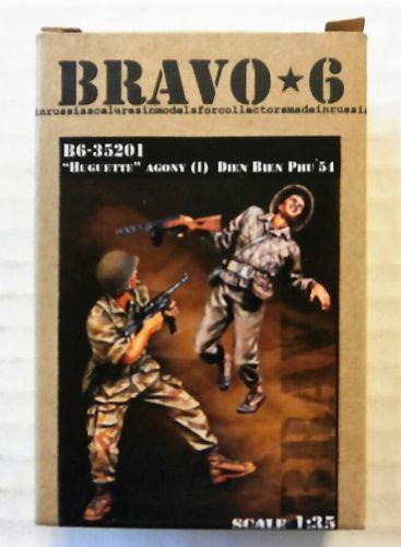 BRAVO 6 1/35 35201 HUGETTE AGANOY  1  DIEN BIEN PHU 1954  2 FIGS