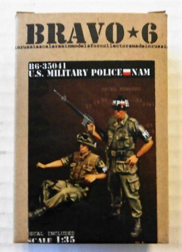 BRAVO 6 1/35 35041 U.S. MILITARY POLICE IN VIETNAM  2 FIGS