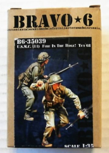 BRAVO 6  35039 U.S.M.C  11  FIRE IN THE HOLE TE 1968  2 FIGS