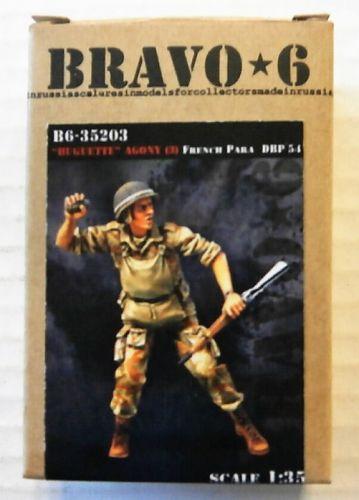 BRAVO 6 1/35 35203 HUGETTE AGONY  3  FRENCH PARA DBP 1954
