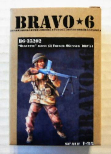 BRAVO 6 1/35 35202 HUGETTE AGONY  2  FRENCH MACHINE GUNNER DBP 1954