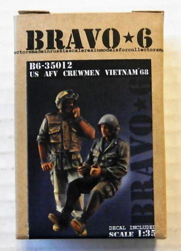 BRAVO 6 1/35 35012 U.S. AFV CREWMEN VIETNAM 1968  2 FIGS