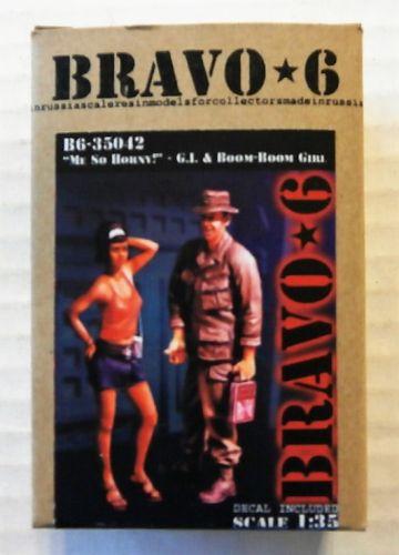 BRAVO 6 1/35 35042 ME SO HORNY - G.I.   BOOM-BOOM GIRL