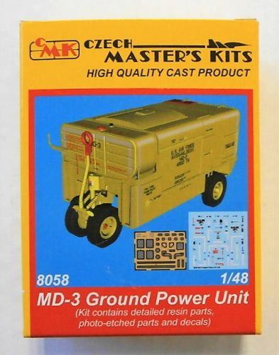 CMK 1/48 8058 MD-3 GROUND POWER UNIT
