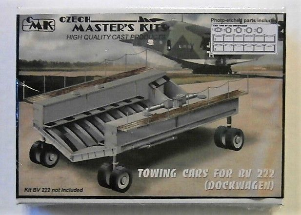 CMK 1/72 7088 BV 222 TOWING CARS  DOCKWAGEN
