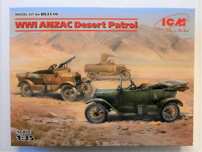 ICM 1/35 DS3510 WWI ANZAC DESERT PATROL
