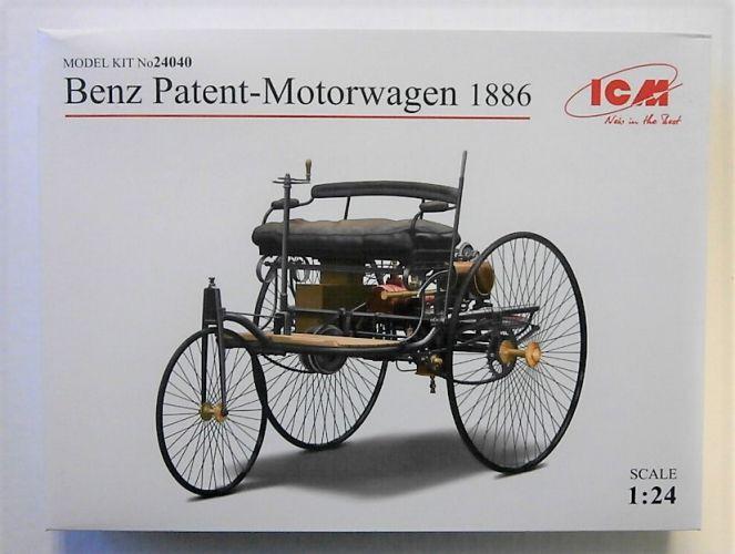 ICM 1/24 24040 BENZ PATENT-MOTORWAGEN 1886