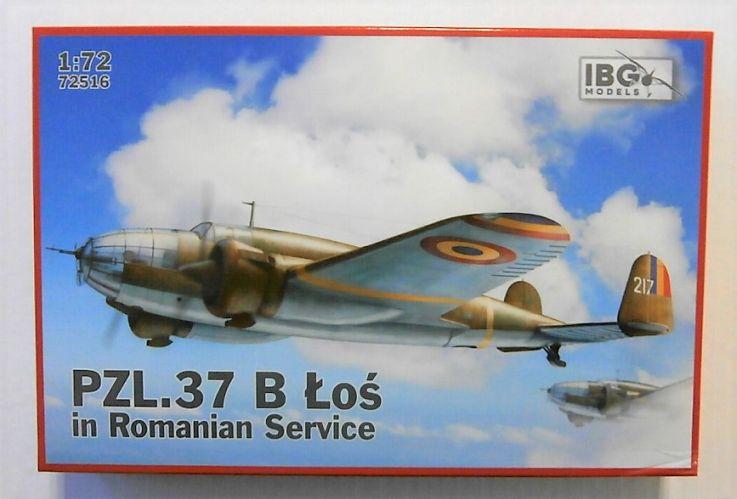 IBG MODELS 1/72 72516 PZL.37 B LOZ IN ROMANIAN SERVICE
