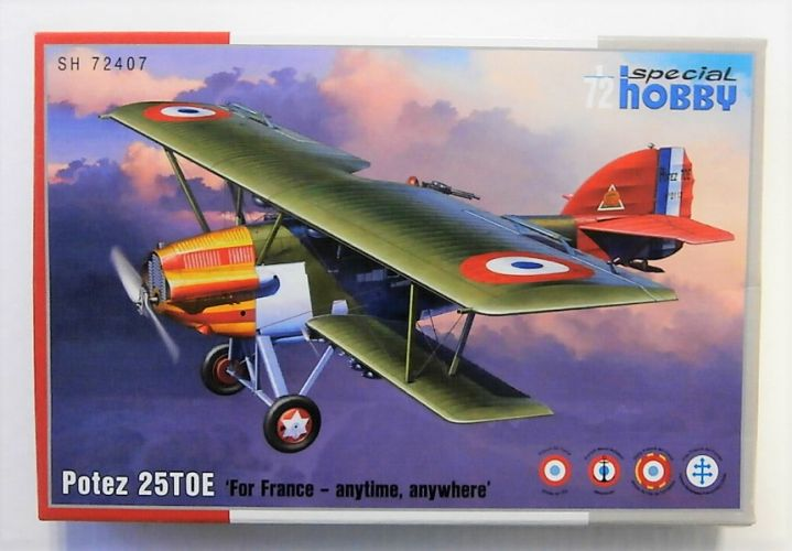 SPECIAL HOBBY 1/72 72407 POTEZ 35 TOE - FOR FRANCE ANYTIME ANYWHERE