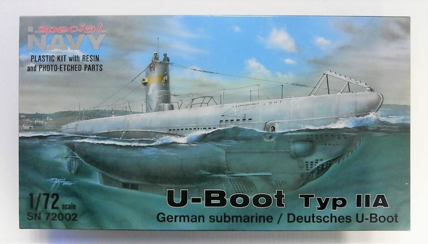 SPECIAL NAVY 1/72 72002 U-BOOT TYPE IIA