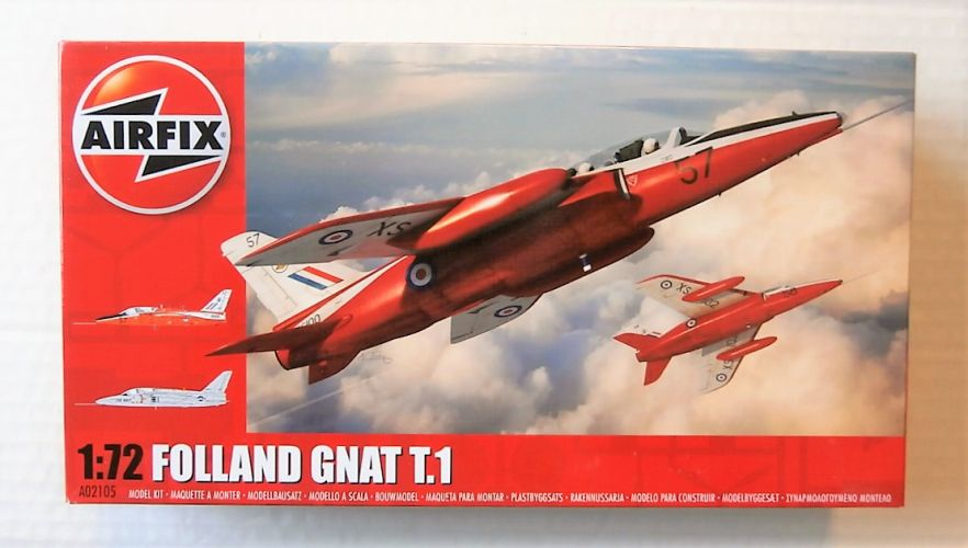 AIRFIX 1/72 02105 FOLLAND GNAT T.1