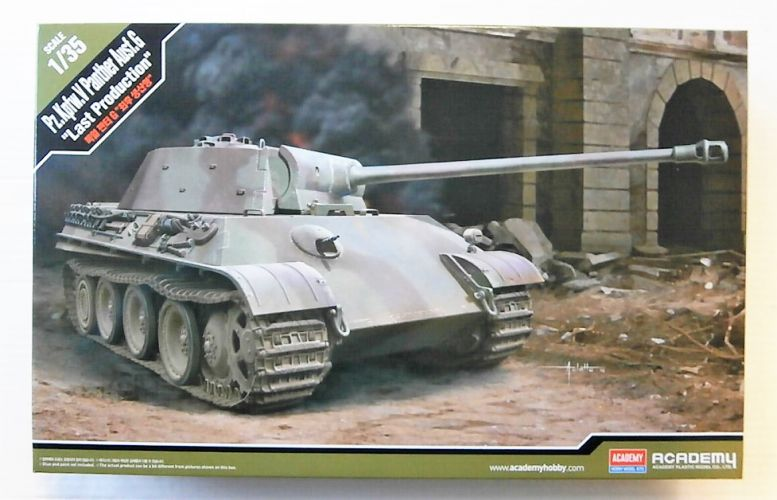 ACADEMY 1/35 13523 PZ.KPFW.V PANTHER AUSF.G LAST PRODUCTION