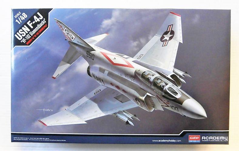 ACADEMY 1/48 12323 USN F-4J VF-102 DIAMONDBACKS
