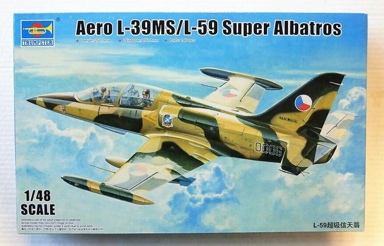 TRUMPETER 1/48 05806 AERO L-39MS/ L-59 SUPER ALBATROS