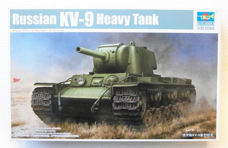 TRUMPETER 1/35 09563 RUSSIAN KV-9 HEAVY TANK