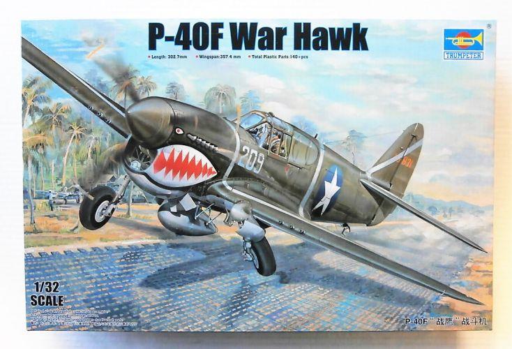 TRUMPETER 1/32 03227 P-40F WAR HAWK