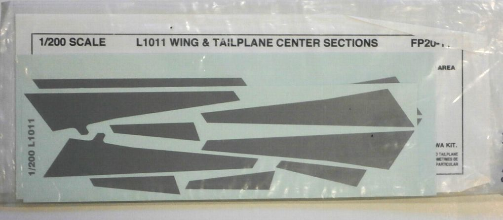 FLIGHTPATH 1/200 1774. 20112 L1011 WING   TAILPLANE SECTIONS