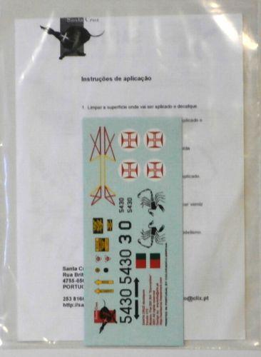MODEL ALLIANCE 1/72 1786. SANTA CRUZ DECALS 7203 FIAT G-91 R/4