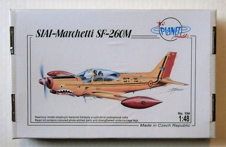 PLANET MODELS 1/48 194 SIAI-MARCHETTI SF-260M