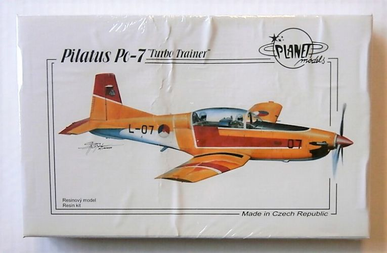 PLANET MODELS 1/72 195 PILATUS PC-7 TURBO TRAINER