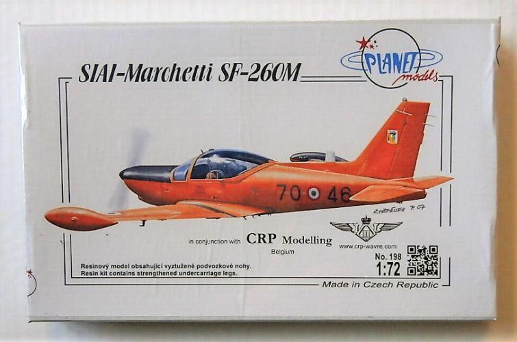 PLANET MODELS 1/72 198 SIAI-MARCHETTI SF-260M