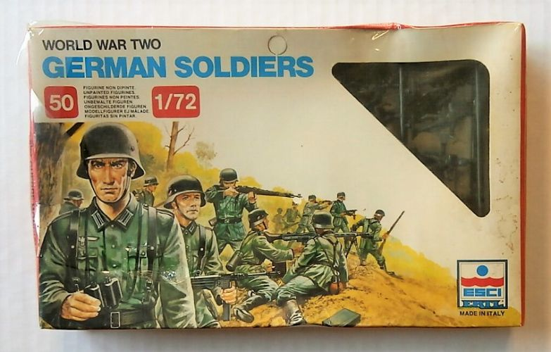 ESCI 1/72 201 WWII GERMAN SOLDIERS