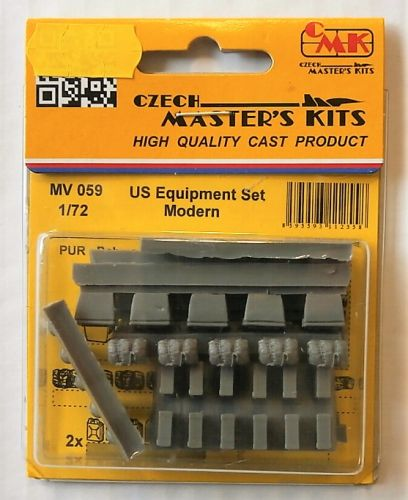 CMK 1/72 MV059 US EQUIPMENT SET MODERN