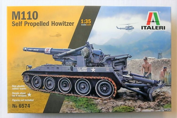 ITALERI 1/35 6574 M110 SELF-PROPELLED HOWITZER