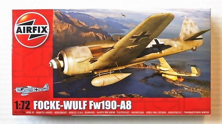 AIRFIX 1/72 01020A FOCKE WULF FW190-A8