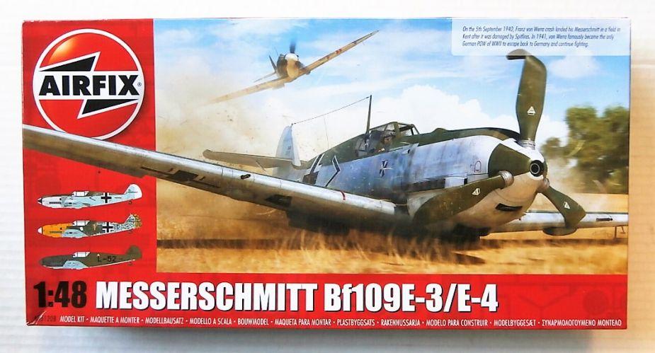 AIRFIX 1/48 05120B MESSERSCHMITT BF109E-3/E-4