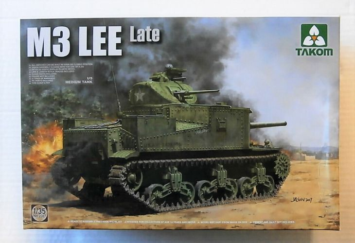 TAKOM 1/35 2087 US MEDIUM TANK M3 LEE  LATE