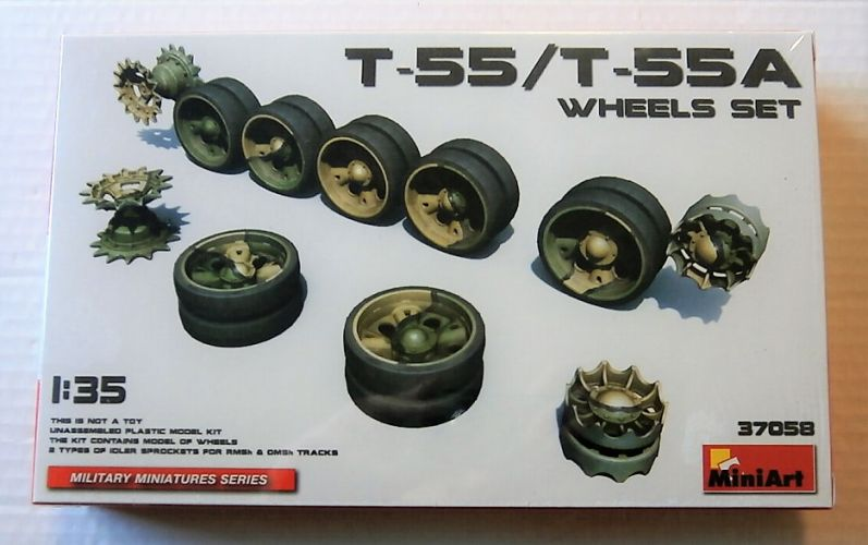 MINIART 1/35 37058 T-55/T-55A WHEELS SET