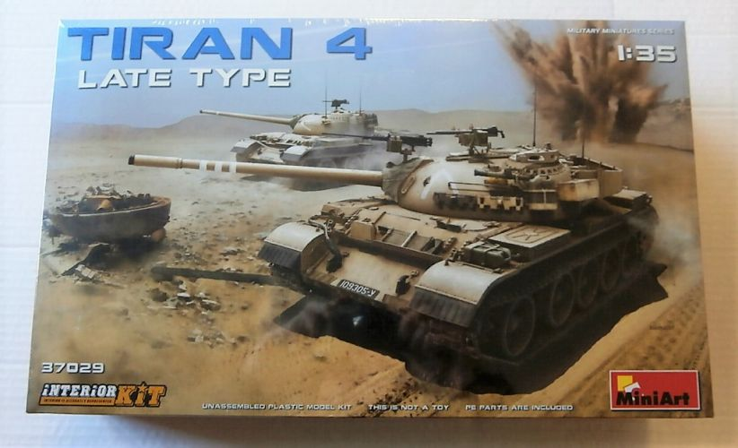 MINIART 1/35 37029 TIRAN 4 LATE TYPE