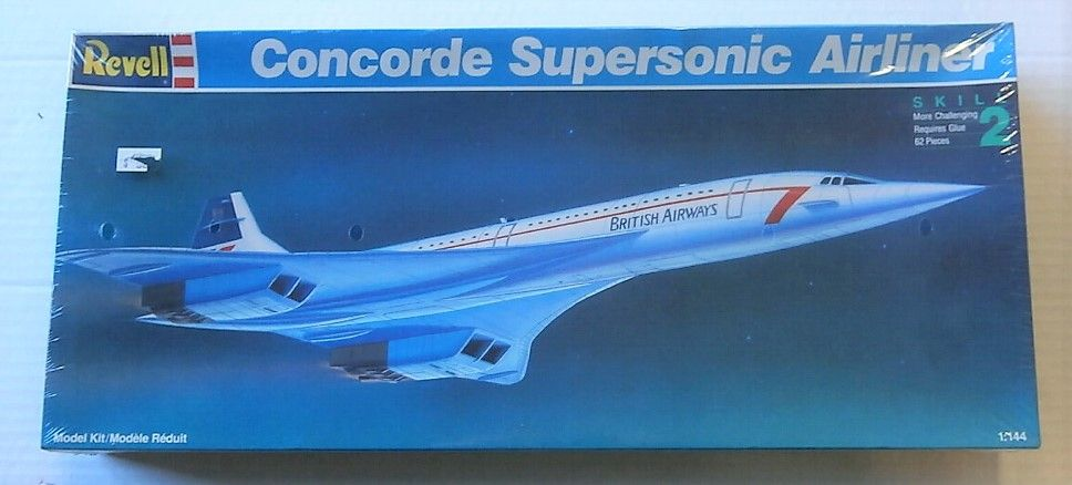 REVELL 1/144 4453 CONCORDE SUPERSONIC AIRLINER