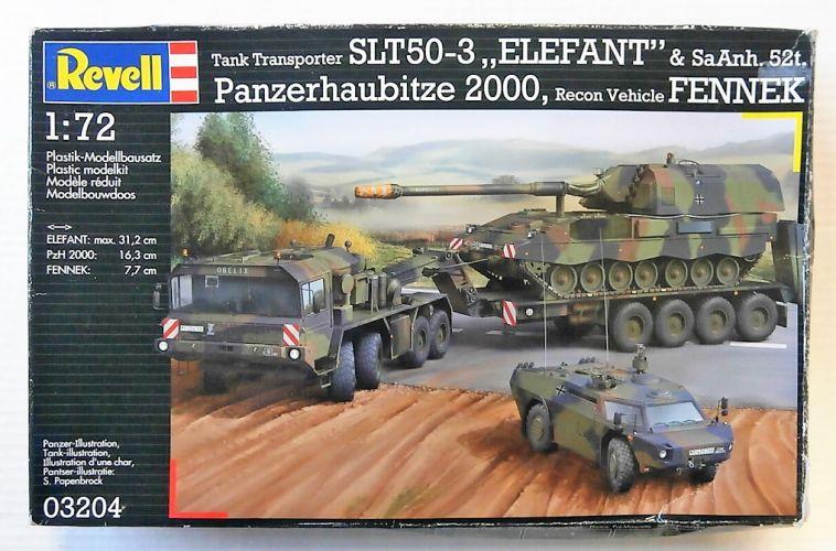 REVELL 1/72 03204 ELEFANT PzH 2000 FENNEK