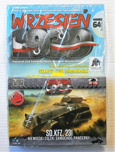 FIRST TO FIGHT 1/72 064 GERMAN SD.KFZ.231 HEAVY ARMOURED CAR