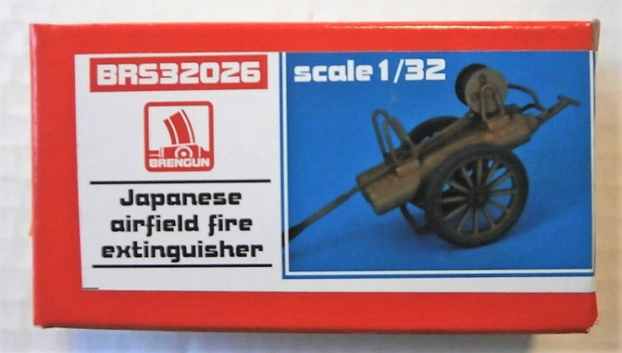 BRENGUN 1/32 32026 JAPANESE AIRFIELD FIRE EXTINGUISHER