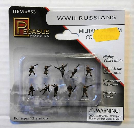PEGASUS 1/144 853 WWII RUSSIANS