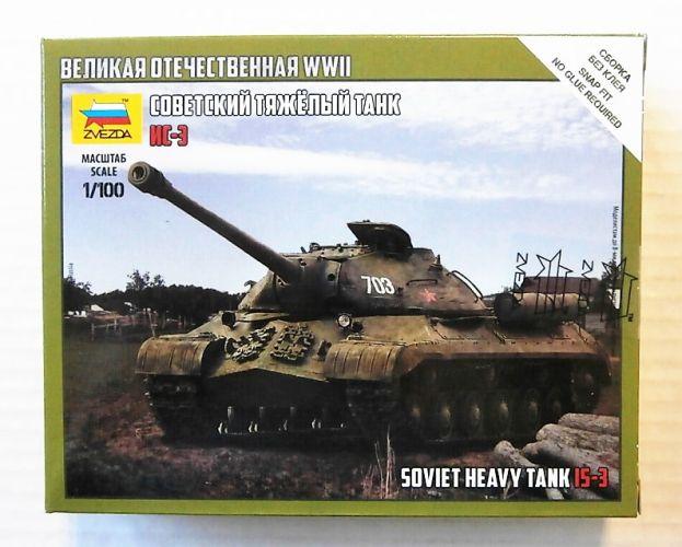 ZVEZDA 1/100 6194 IS-3 SOVIET HEAVY TANK
