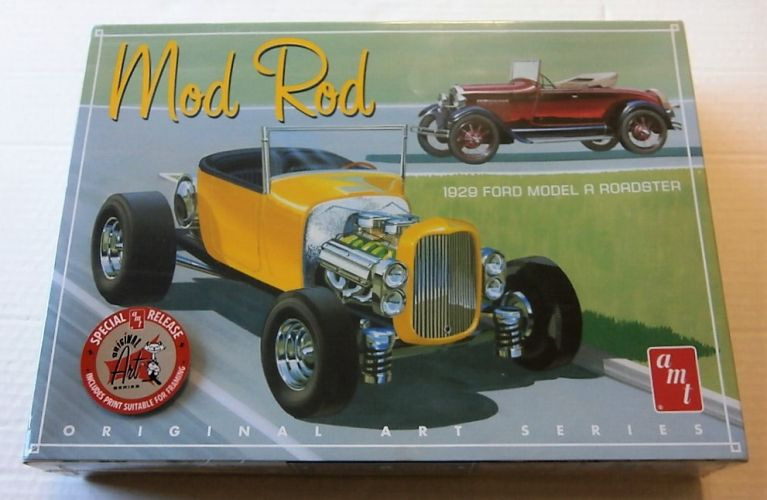AMT 1/25 1000 MOD ROD 1929 FORD MODEL A ROADSTER