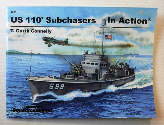 SQUADRON/SIGNAL WARSHIPS IN ACTION  4033. US 110 SUBCHASERS IN ACTION