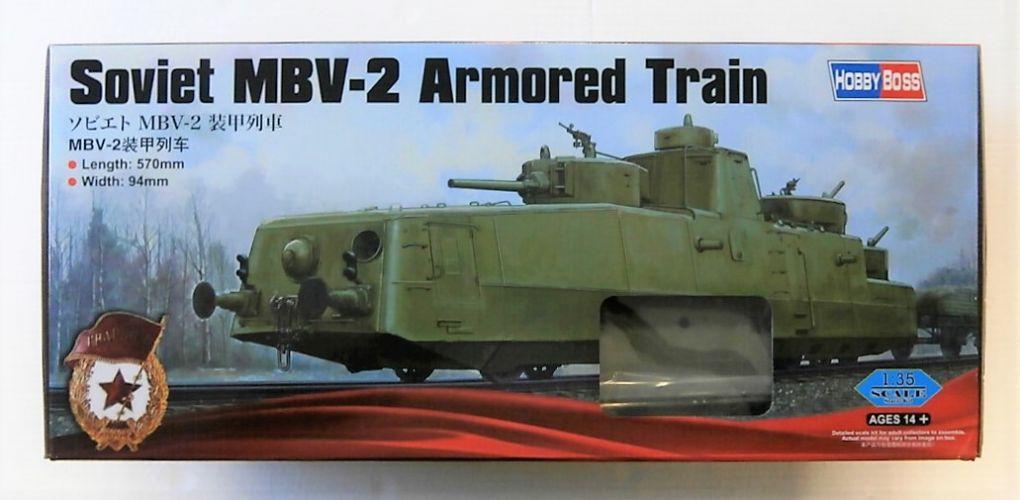 HOBBYBOSS 1/35 85514 SOVIET MBV-2 ARMOURED TRAIN  UK SALE ONLY