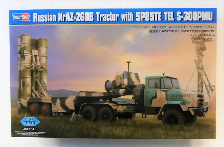 HOBBYBOSS 1/35 85511 RUSSIAN KrAZ-260B TRACTOR W/ 5P85TE TEL S-300PMU  UK SALE ONLY