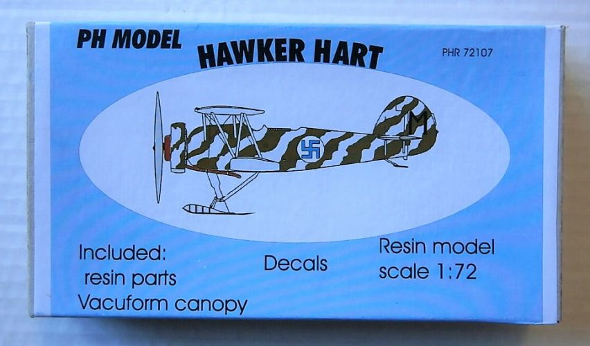 PH MODEL 1/72 72107 HAWKER HART