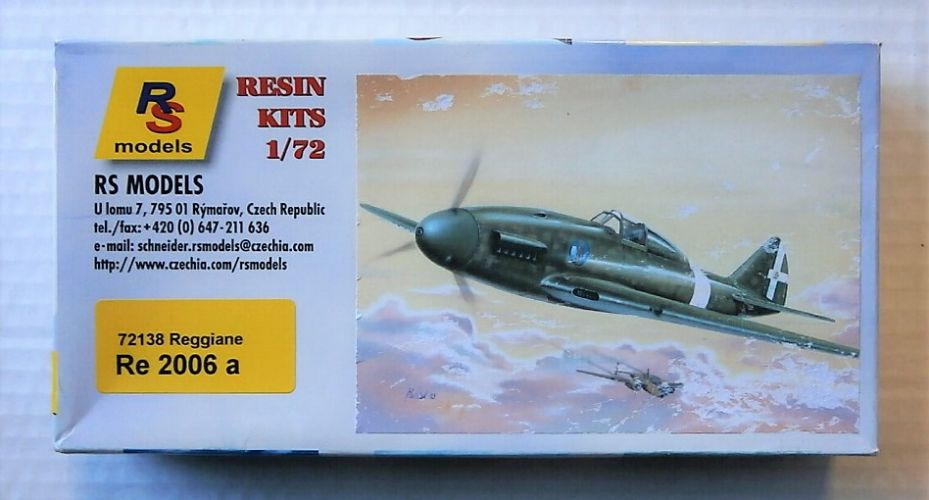 RS MODELS 1/72 72138 REGGIANE RE 2006 A